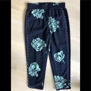 J. Crew Floral Pants